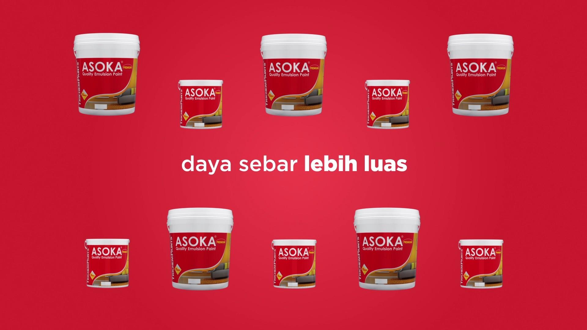 asoka premium paint tvc motion graphic